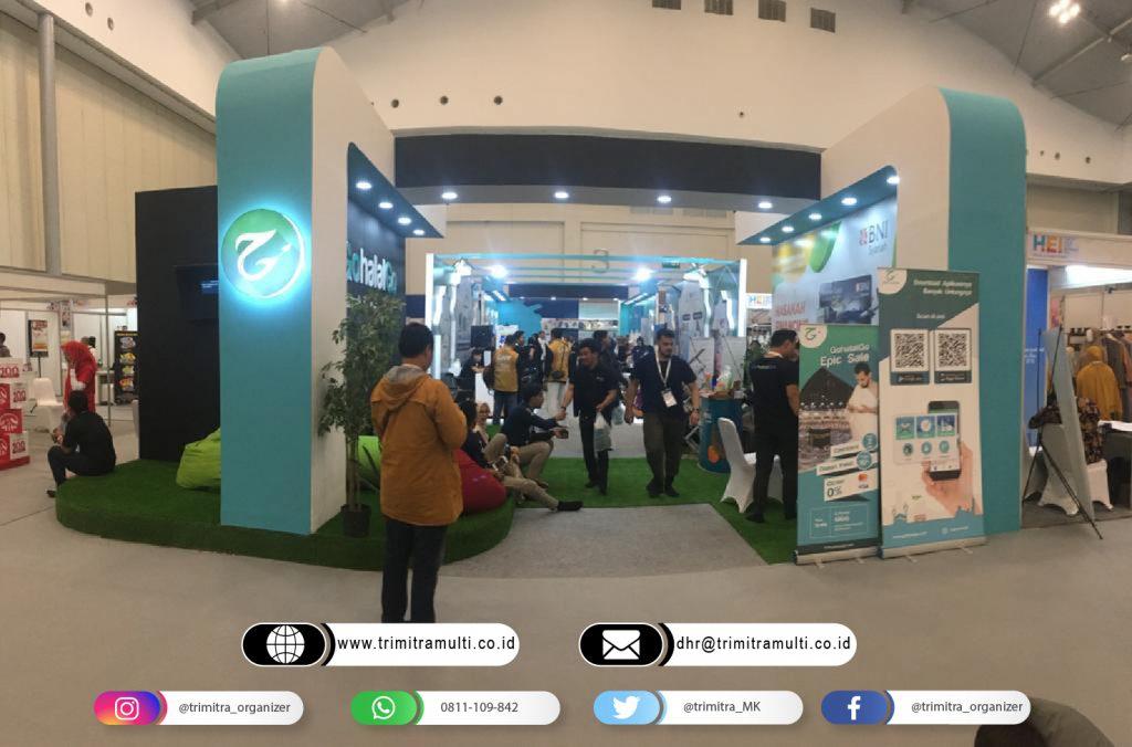 booth pameran gohalalgo Halal Expo 2019